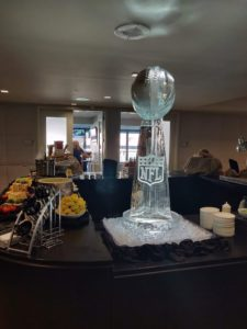 2 block football trophy