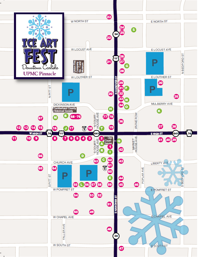 IceFestMap Only